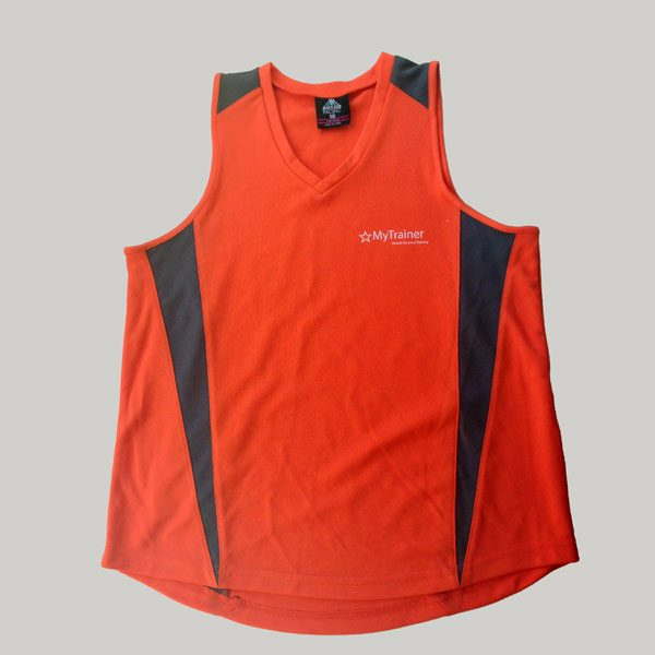Ladies Orange Singlet