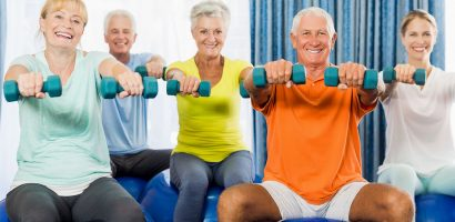 Older adults exercise classes