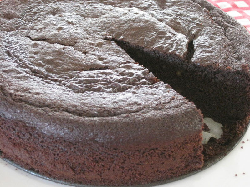 Magic Bean flourless chocolate cake Recipe