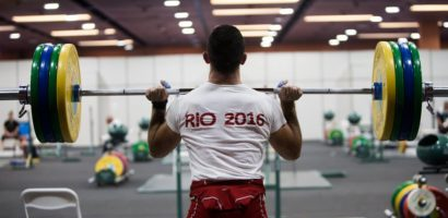 RIO OLYMPICS Athletes Hard Training